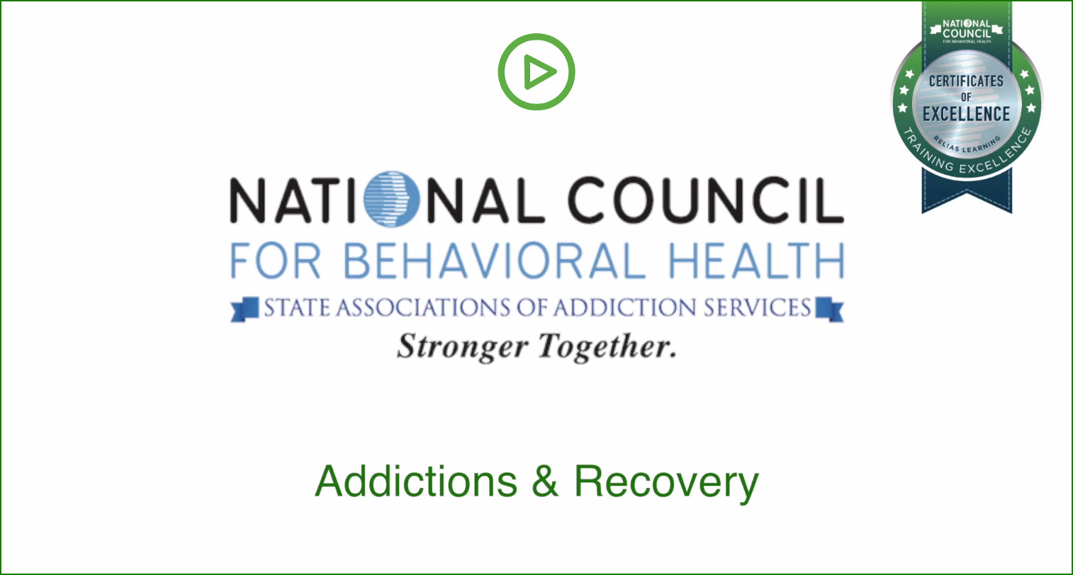 Addictions and Recovery video